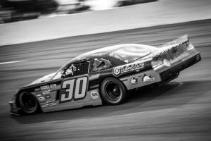 joe car black and white